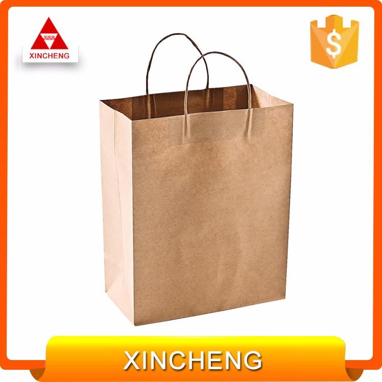 Custom Logo Printed Cheap Price Bread Package Paper Bag ...