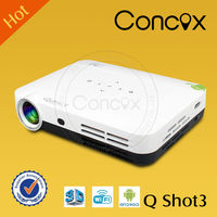 Q Shot3 Mirroring connection with Tablet/laptop/phone cheapest mini portable projector