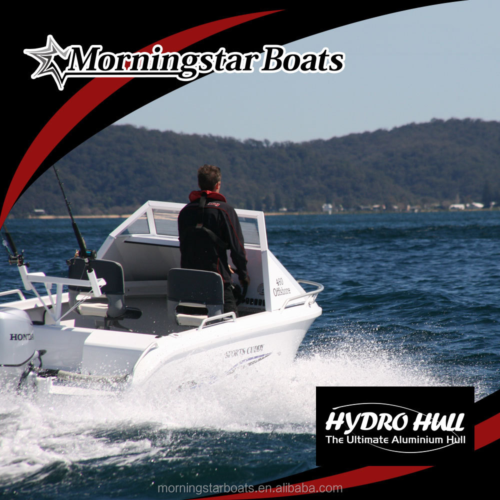 2015 New 16ft aluminum speed cabin motor boat for sale