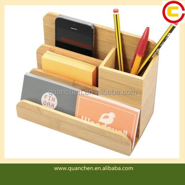 chique houten bureau organizer brief visitekaarthouder pen kaarthouder notitie houder product. Black Bedroom Furniture Sets. Home Design Ideas