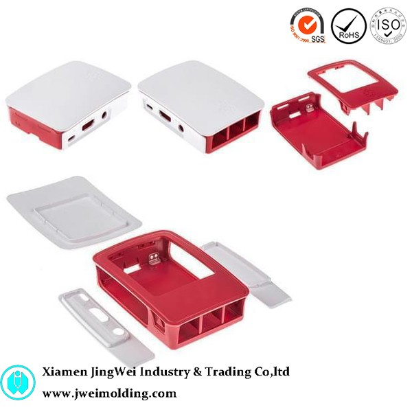 Custom Raspberry Pi 3 case, ABS enclosure shell cover injection mold