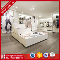 Modern Retail Wooden Display Furniture For Clothing Store