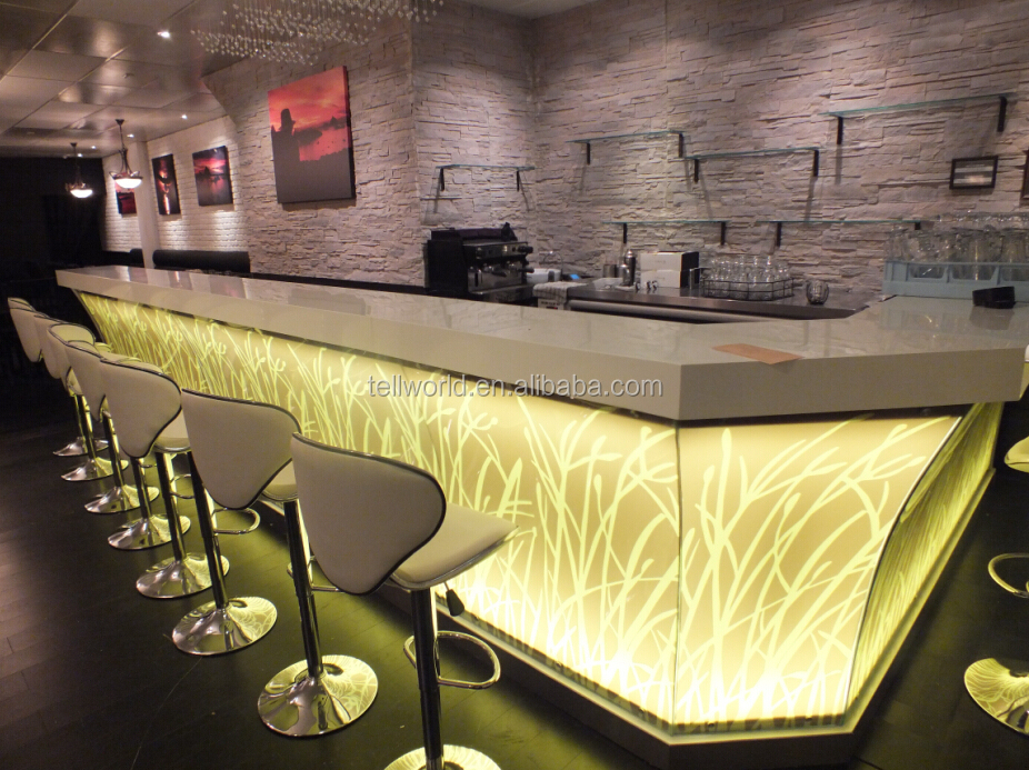 Modern bar counter designs home wine mini bar counter for Modern wine bar design