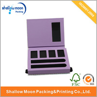 Eye shadow palette high quality packaging cosmetic paper box