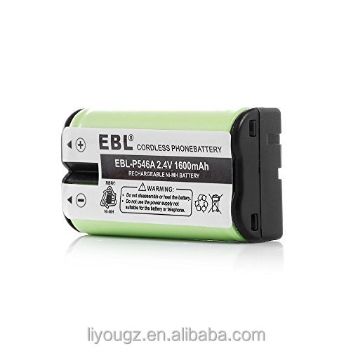 EBL NI-MH Rechargeable Replacement Cordless Phone Battery for Home Phone