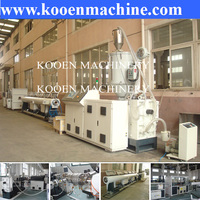 PPR water pipe tubing extrusion line production machine