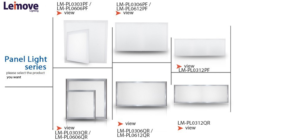 Leimove surface-mounted led square panel light hot-sale for customization-24