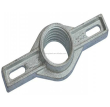 Casting scaffold base jack nut / jack base nut