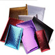 self adhesive metallic silver foil bubble envelopes