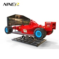 2019 NINED Real Feeling High Speed Exciting 6DOF Racing Simulator F1 Racing Car Simulator Car Racing Games