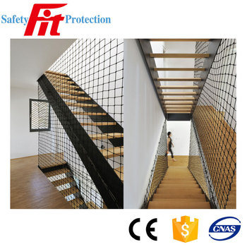Stair Barrier Safety Nets