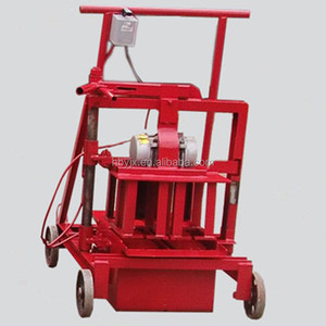 QMJ2-45 Mobile Machines To Make Brick/ Small ACME Laying Block Machine For Working At Home