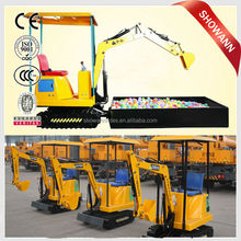 Cheap Investment!! shopping center / plaza kids entertainment electric game electric mini excavator ride for sales promotion