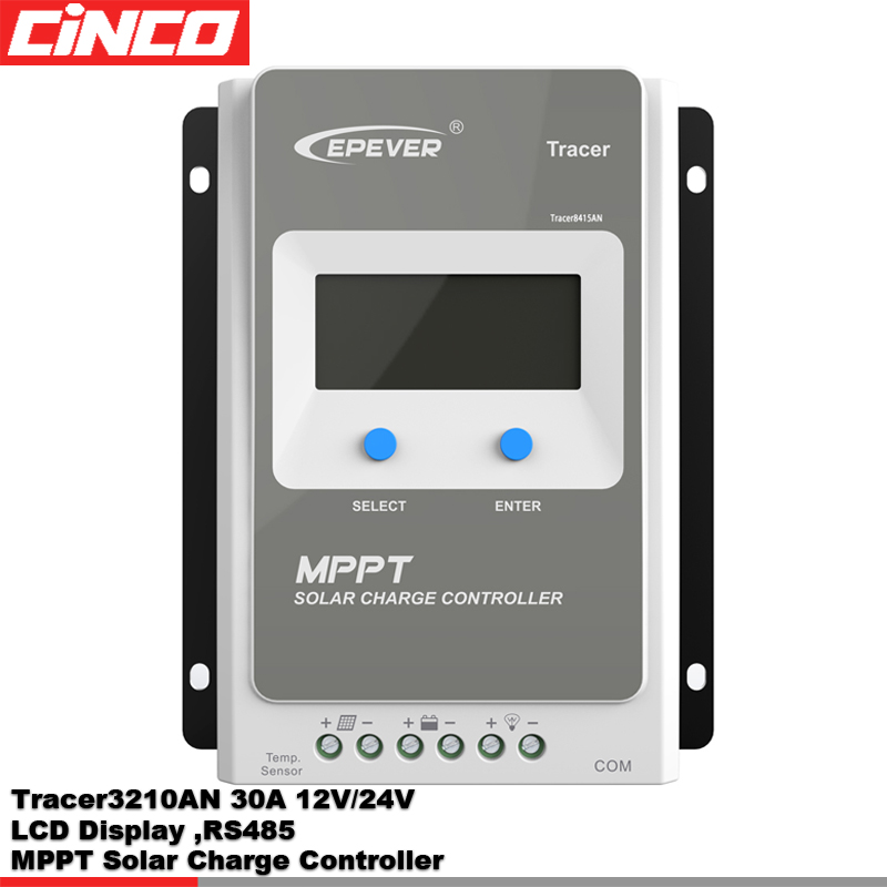 Tracer3210AN 30A 12V/24V epsolar/epever MPPT Solar <strong>Charge</strong> <strong>Controller</strong> cheap price high quality