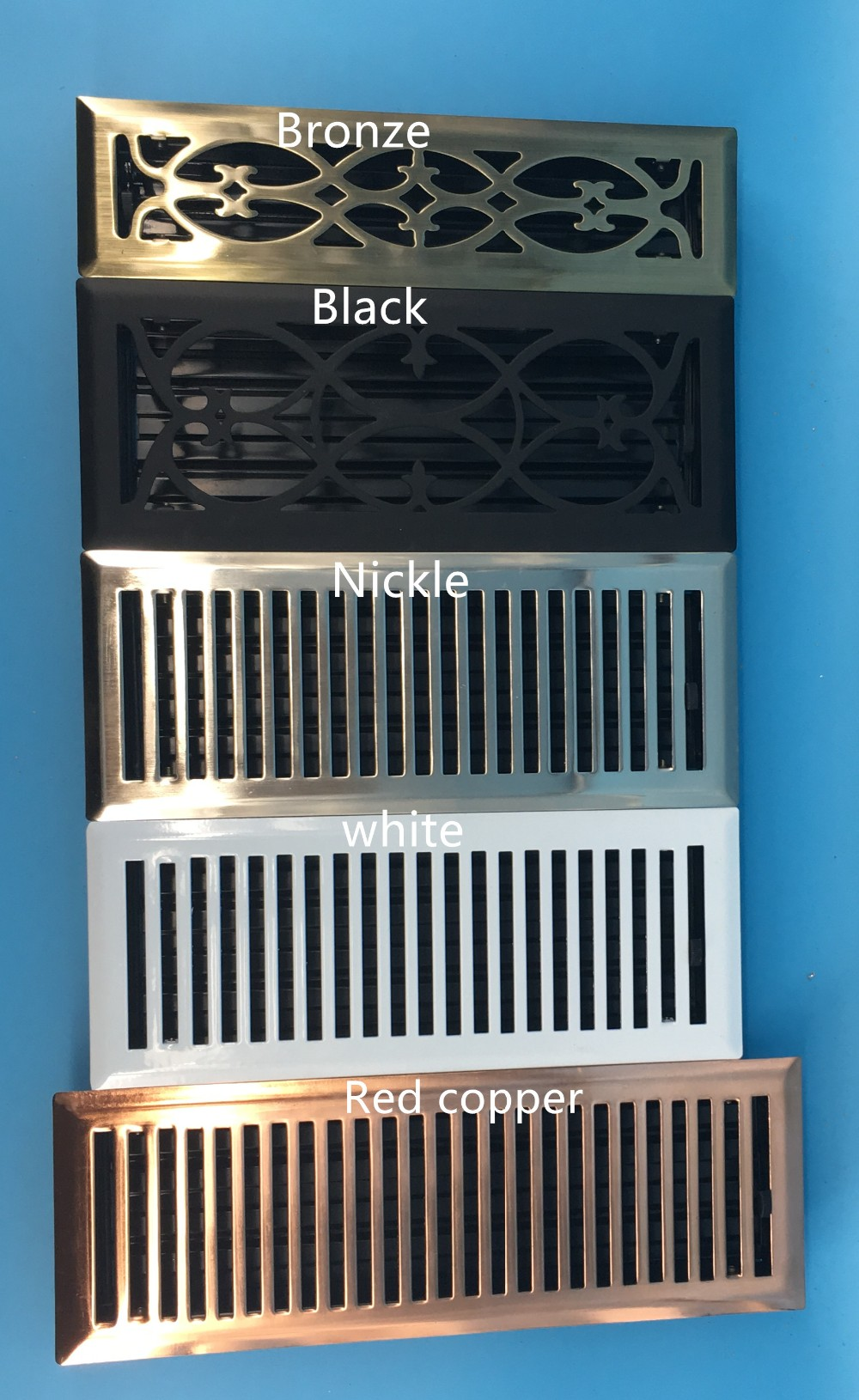 Metal Decorative Floor Grille Return Air Vent Floor