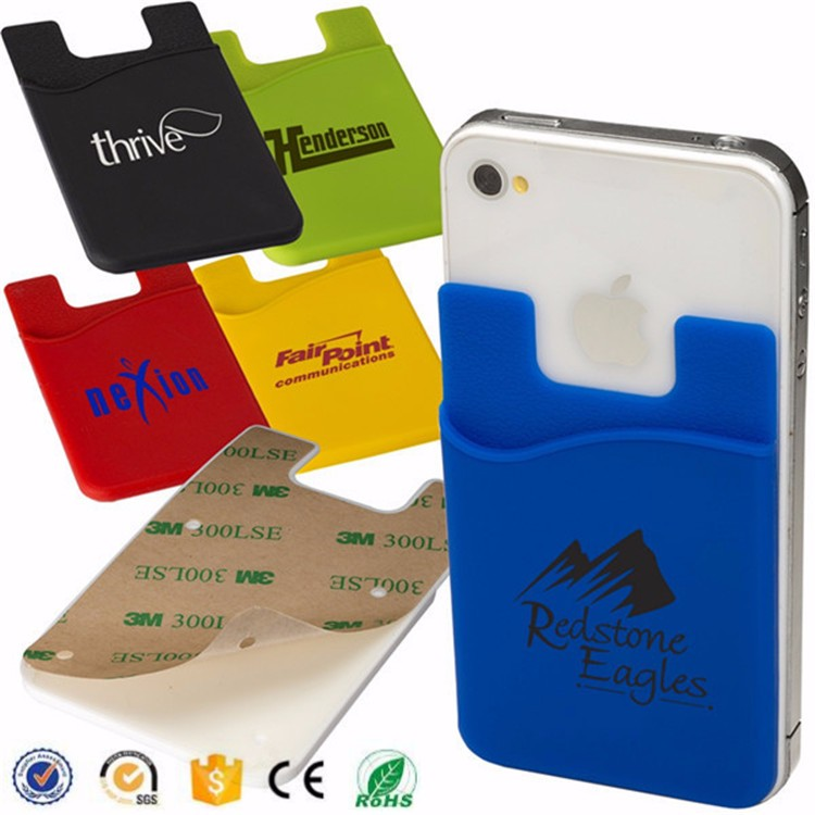 Good design customize mobile phone card holder case