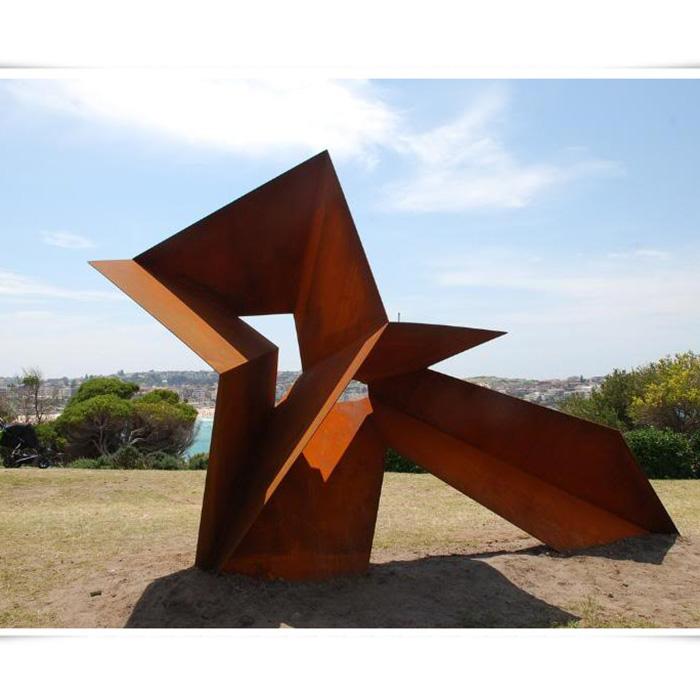 Large Outdoor Metal Corten Steel Sculpture Garden Art Buy