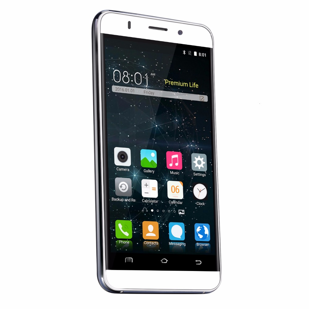 מקורי Gooweel M5 Pro טלפון נייד MTK6580 quad core 5 אינץ IPS מסך הסמארטפון 5 מגה פיקסל/מצלמה 8MP GPS 3G טלפון סלולרי חינם מתנה