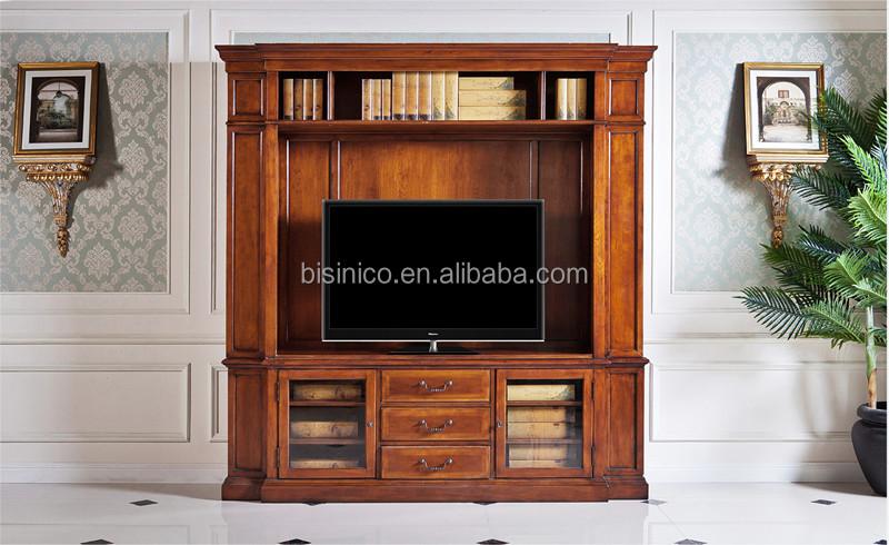 Vintage Woonkamer Meubels : Vintage design houten tv meubel amerika stijl replica woonkamer