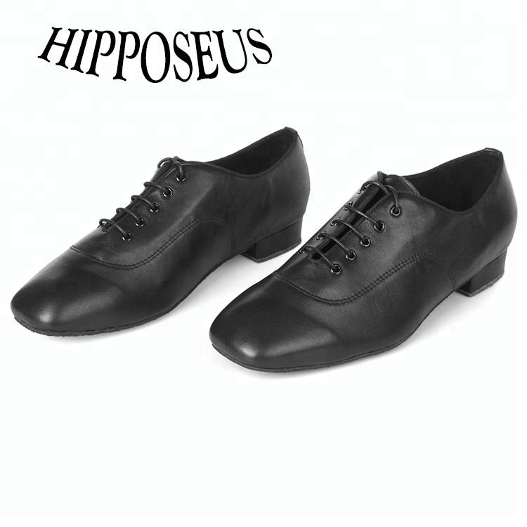 Modern Shoes Leather Thick Wholesale Dance Bottom Men's Soft Dance Shoes Standard National 7wqrxf7