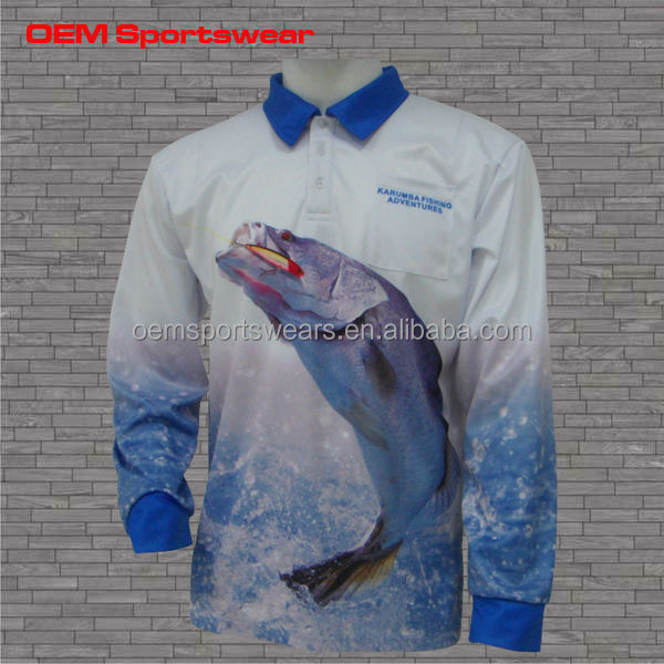 Sublimated tournament spf fishing shirts buy fishing for Spf shirts for fishing