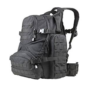 NEW CONDOR #147 Tactical MOLLE Urban Patrol Hiking Backpack Pack Go Bag OD Green