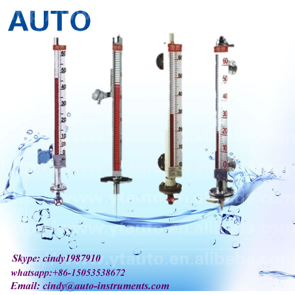tank level transmitter magnetic float liquid level indicator made in China