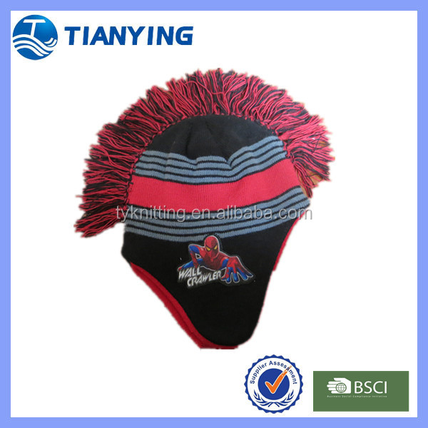 Fleece Mohawk Hat Fleece Mohawk Hat Suppliers And Manufacturers At