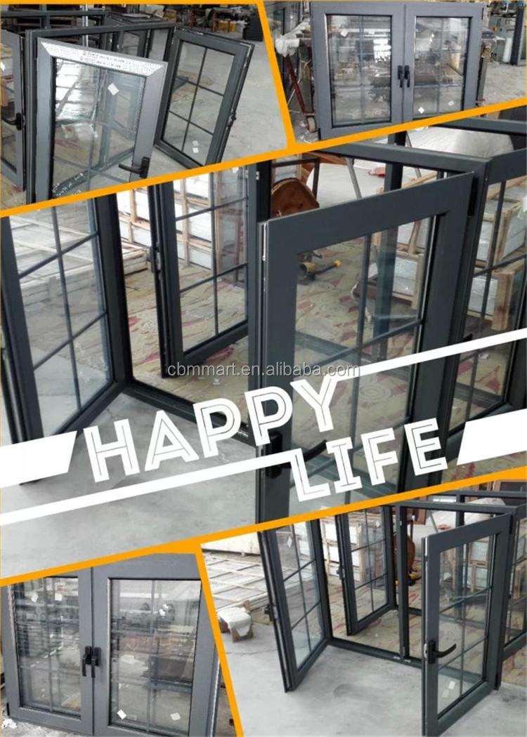 Window grill design and color - 2015 New Black Color Aluminum Window Grill Design