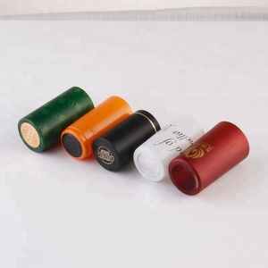 PVC Cap Seal Band For Liquor Bottle Cap Packaging