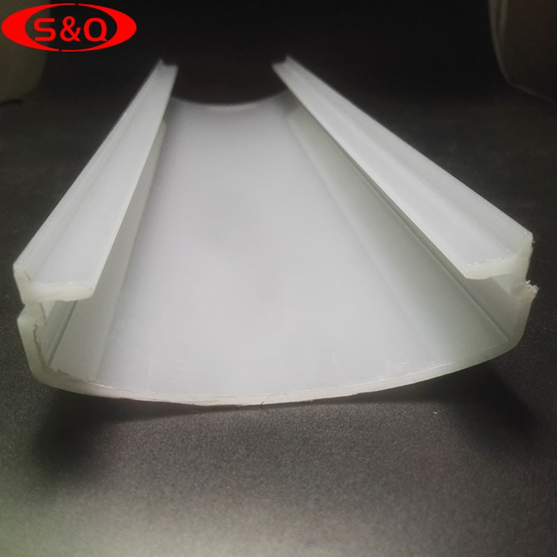 Factory wholesale Extrusion PC diffuser lampshade LED lampshade