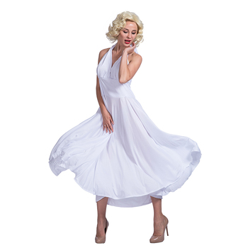 Wholesale sexy costumes Marilyn Monroe Style women Retro celebrity costume  cosplay party dress c516bea25a