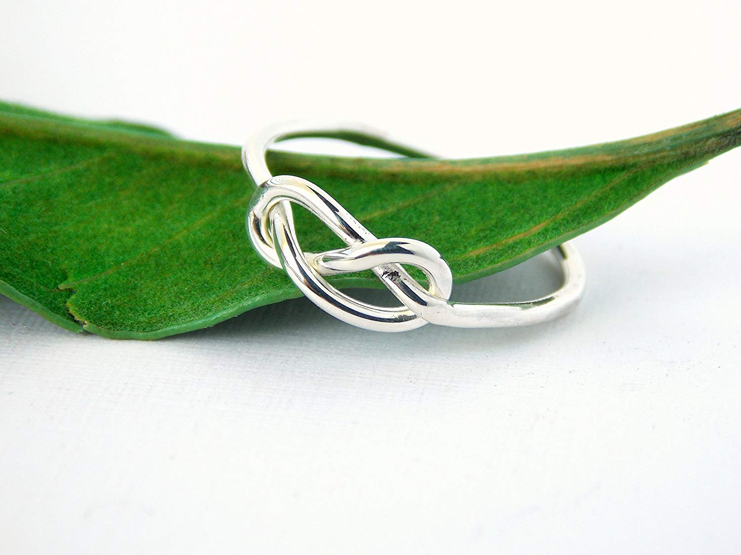 8aedc9f0d99f Get Quotations · Infinity Knot Ring  sterling silver ring