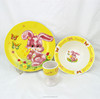 top porcelain kids dinner set , ceramic children dinner set with egg cup