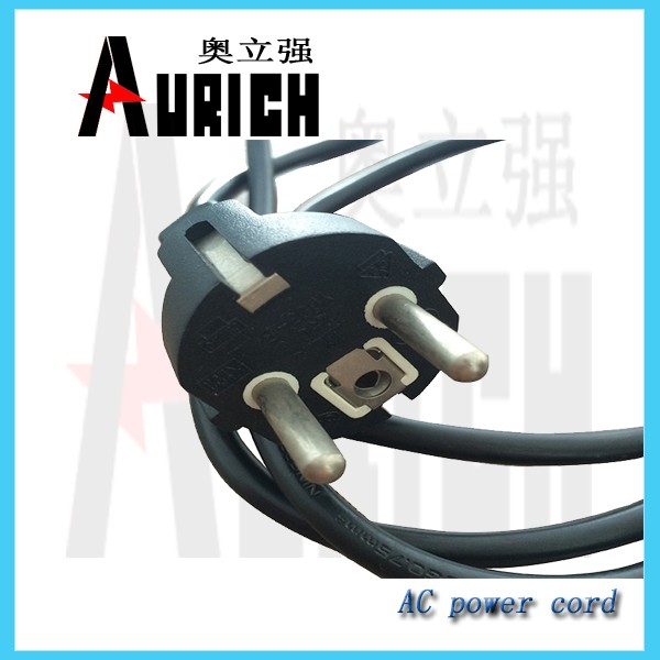 Vde Approval Hollow Brass Pin Plug Power Cable Eu Home Appliances ...