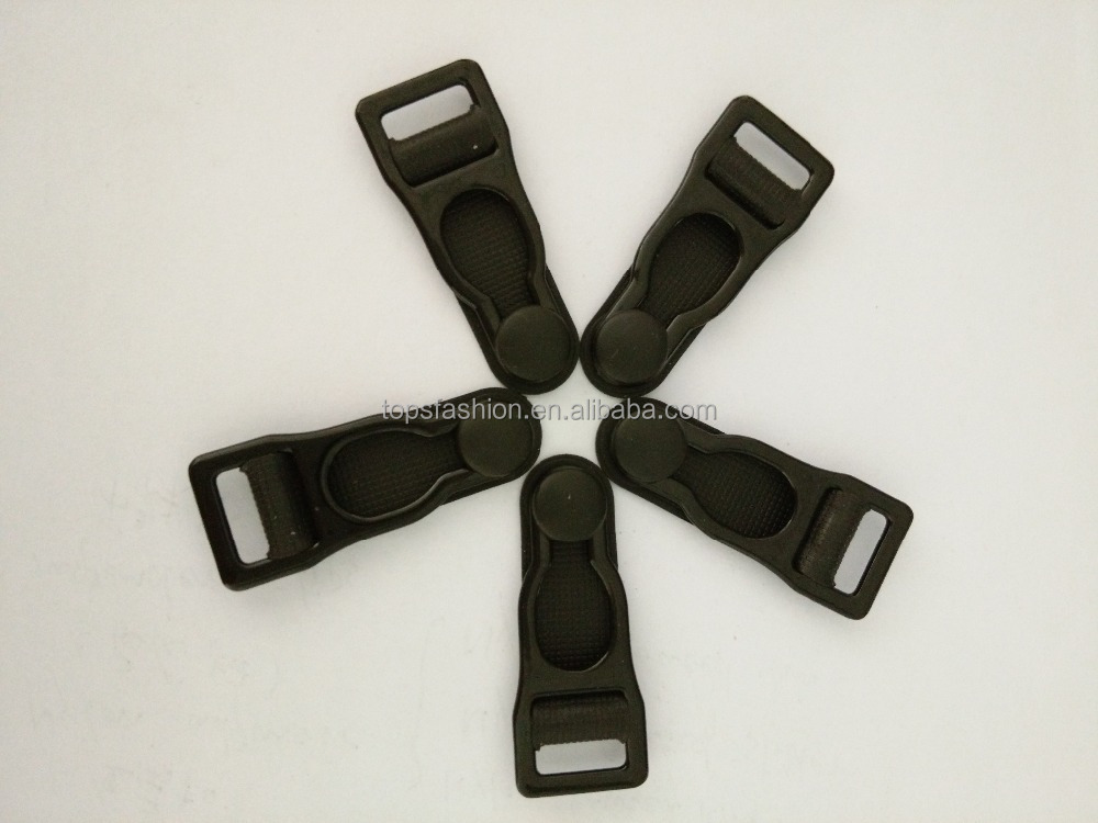 10mm nylon coated garter belt clip