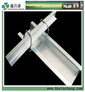 Ceiling carrying channel galvanized metal profile