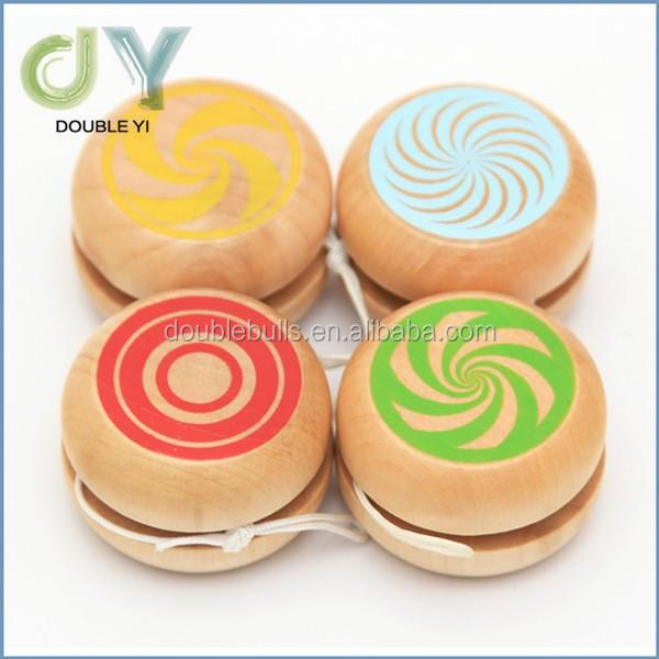Yoyos 1pcs Professional Kids Drum-shaped Yoyo Toys Wooden Material Yo Yo Balls Wood Yo-yo Toy Gifts For Children Toys & Hobbies