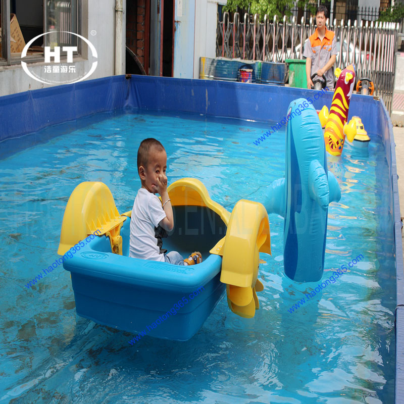 Good Quality Safe Hand Paddle Boat For Children water Hand boat For kid