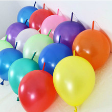 Pin tails balloons6 inch thick balloons birthday party round tails shape balloon