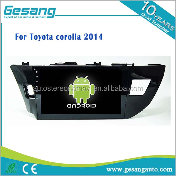 Android 6.0 car dvd player for <strong>Toyota</strong> <strong>corolla</strong> 2014 with gps