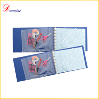 Office & school supplies business pvc 7 ring binder for A4 paper