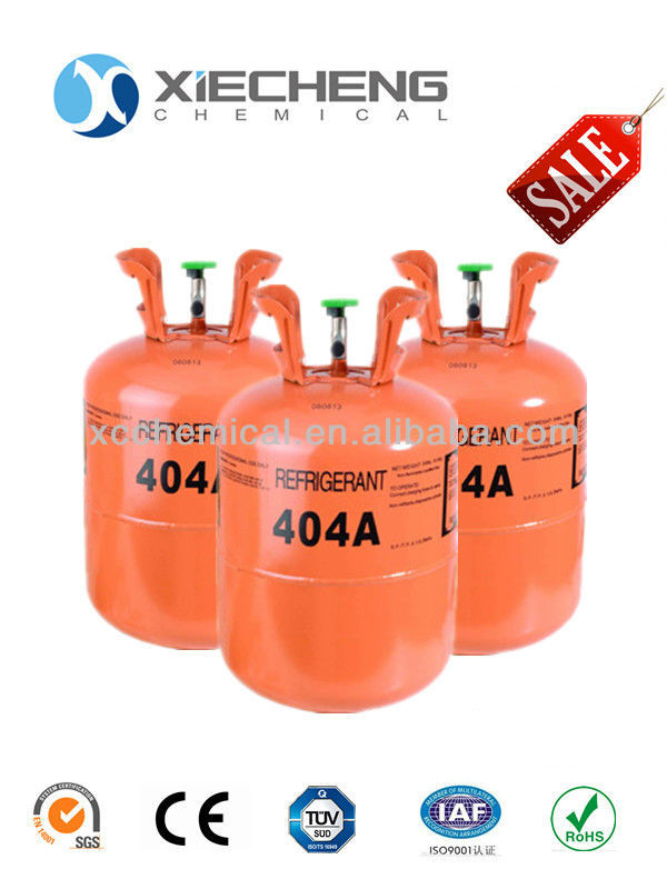 Mixed Refrigerant r404a gas 24lb(10.9kg ) Disposable cylinder