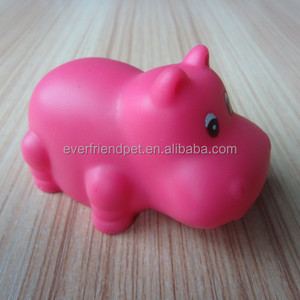 2014 New !Spot Rubber Hippo Bath Toy