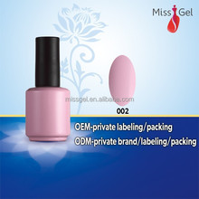 2016 the best sales uv gel ,hongnuo gel polish for uv gel nail