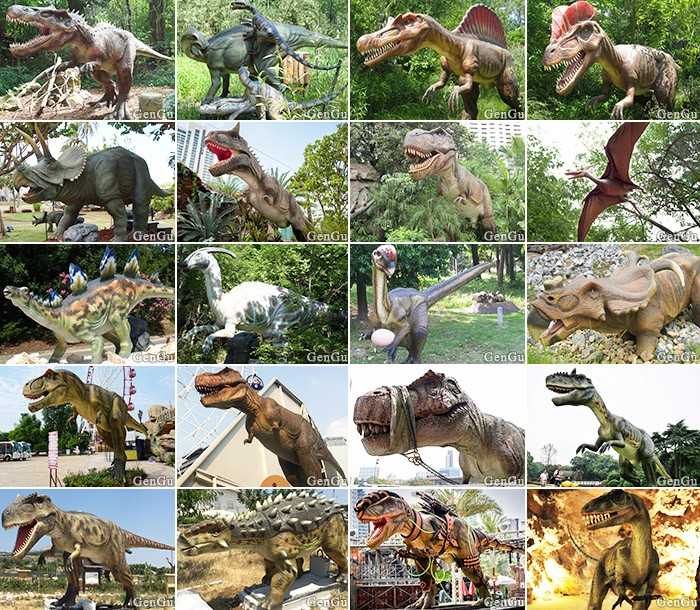 The most Novel Animatronic Cartoon Dinosaur Model