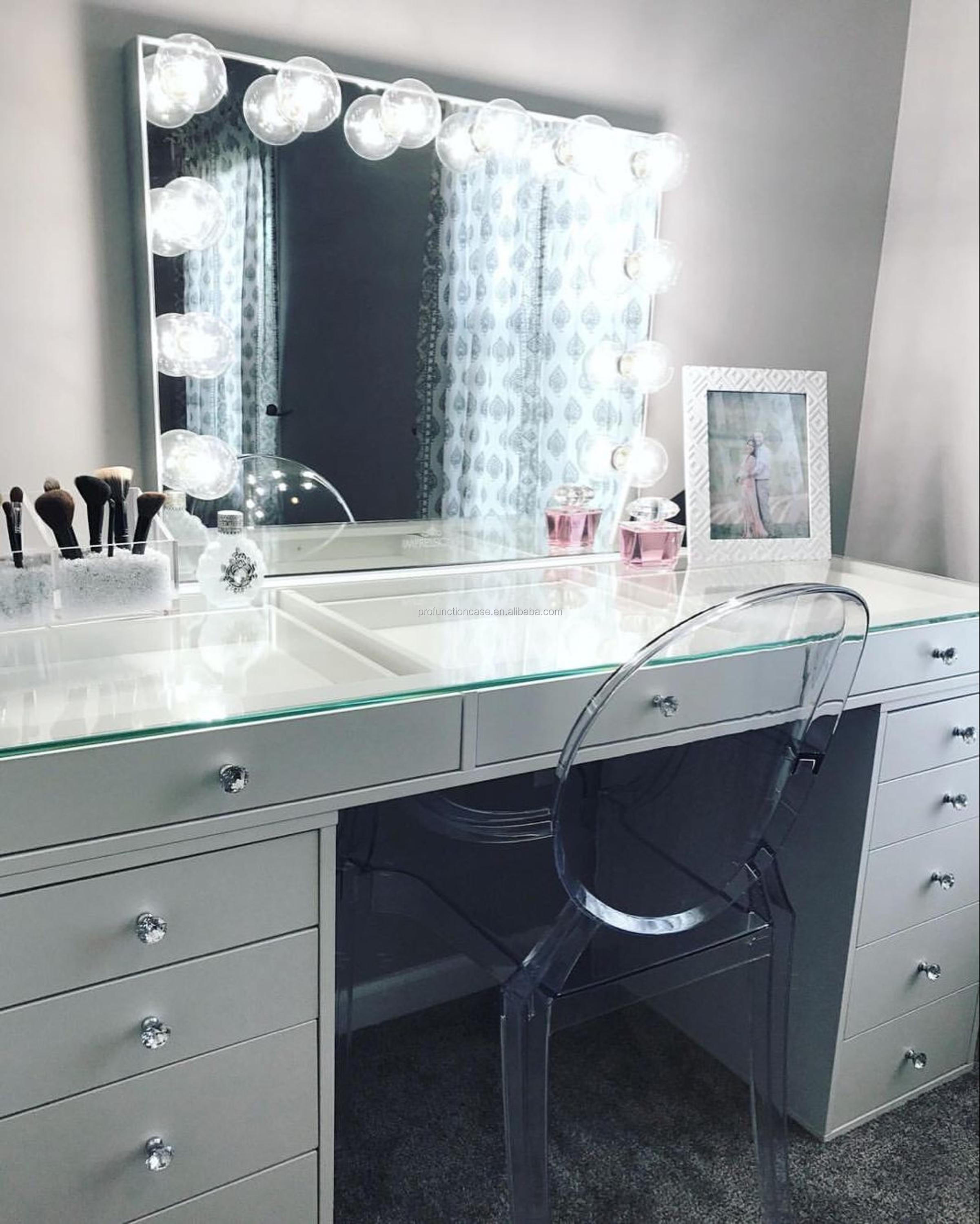 for size with makeup lights design top ideas lighting full of mirrors lamp bedroom home mirror vanity fascinating