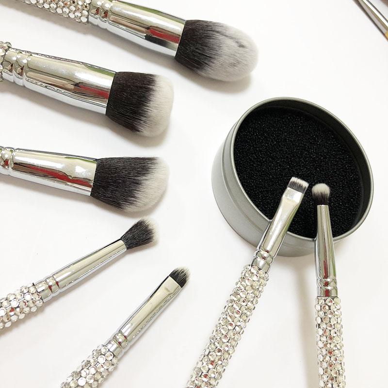 Набор из 7 предметов, ограниченная серия, набор кистей для макияжа