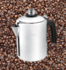 Stainless Steel Gas Coffee Percolator/Stainless Steel Induction Coffee Maker