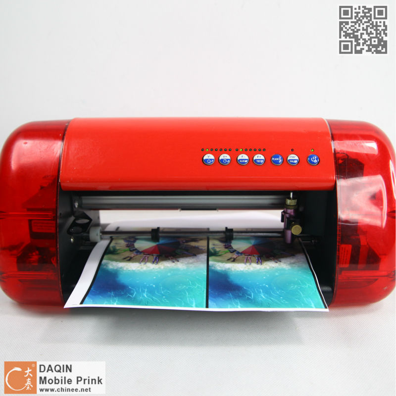 D Daqin Custom Mobile Sticker Diy Software And Sticker Cutting - Custom sticker maker machine
